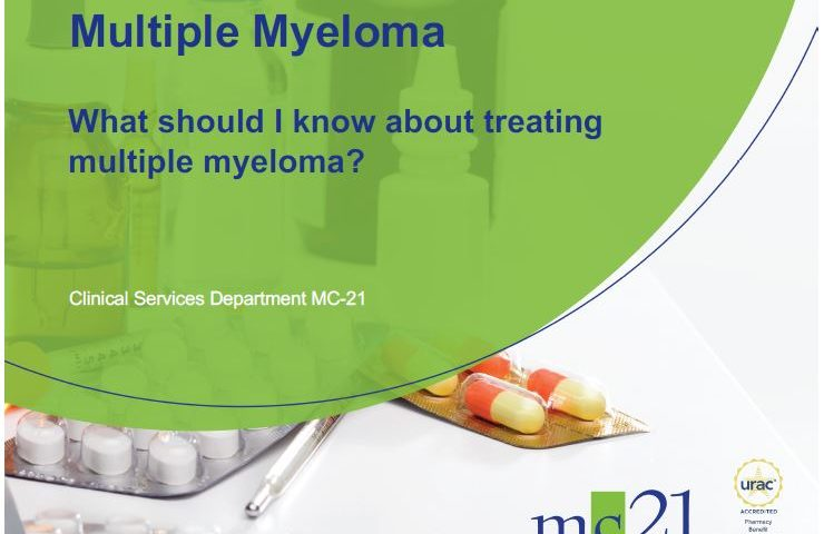 What should I know about treating multiple myeloma?