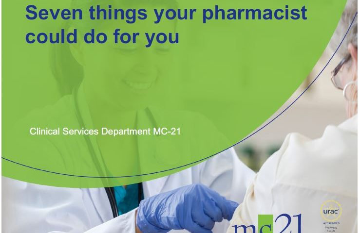 Seven things your pharmacist could do for you