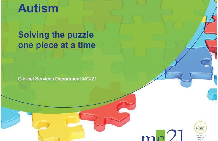 Autism: Solving the puzzle one piece at a time