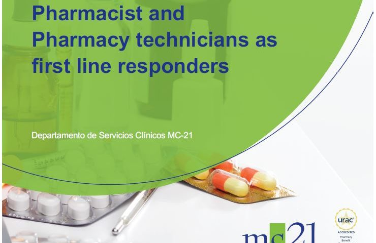 Pharmacist and Pharmacy technicians as first line responders